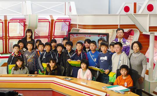 おいらせ町立下田小学校5年生のみなさん