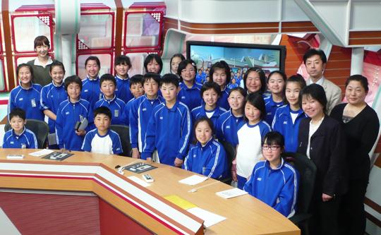 南部町立名久井小学校6年生のみなさん