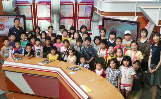 中里小放課後子ども教室のみなさん