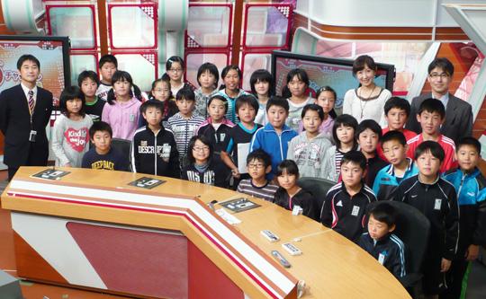 十和田市立北園小学校5年生の皆さん