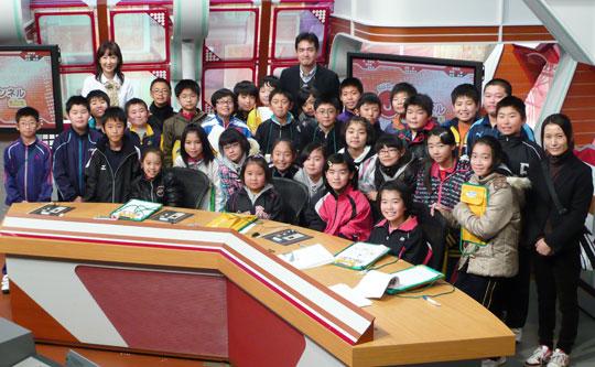 藤崎町立常盤小学校 5年2組の皆さん