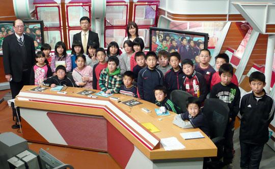 平川市立竹館小学校の皆さん